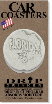 Florida Car Coasters