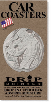 Lion Car Coasters