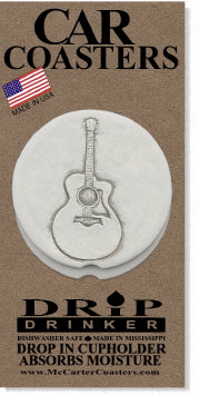 Guitar Car Coasters