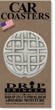 Celtic Cross Car Coasters