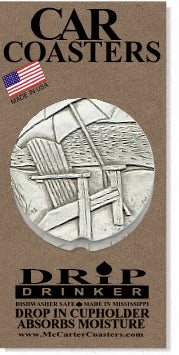 Beach Chair Car Coasters