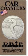 Load image into Gallery viewer, Egret Car Coasters