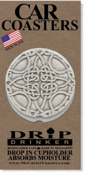 Celtic Knot Car Coasters