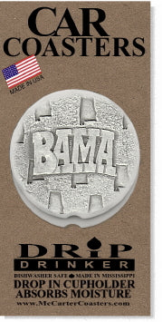Bama Car Coasters