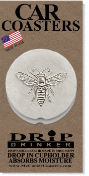 Bee Car Coasters