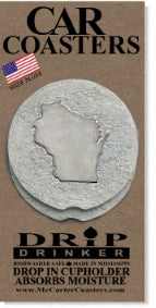 Wisconsin Car Coasters