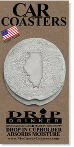 Illinois Car Coasters