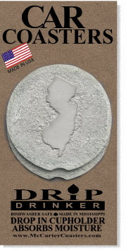 New Jersey Car Coasters