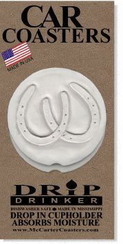 Horseshoe Car Coasters