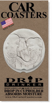 Elephants Car Coasters