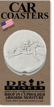 Racehorse Car Coasters
