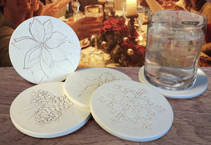 Christmas Drink Coasters