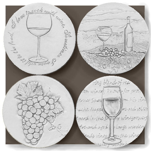 Wine Assorted Drink Coasters