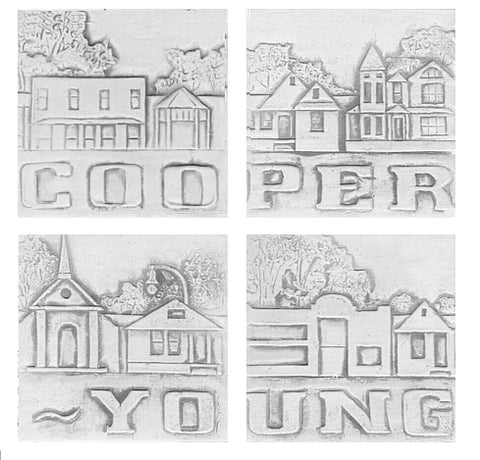 Cooper Young Drink Coasters