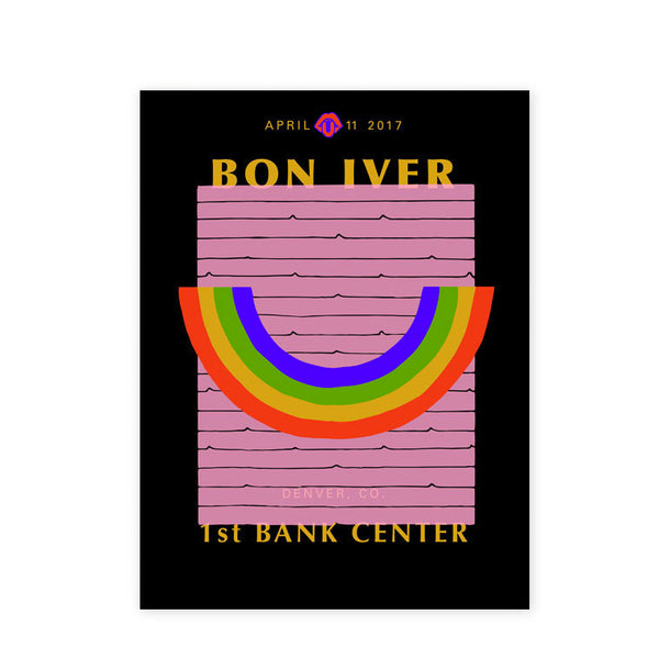1st Bank Center (04/11/2017) Poster