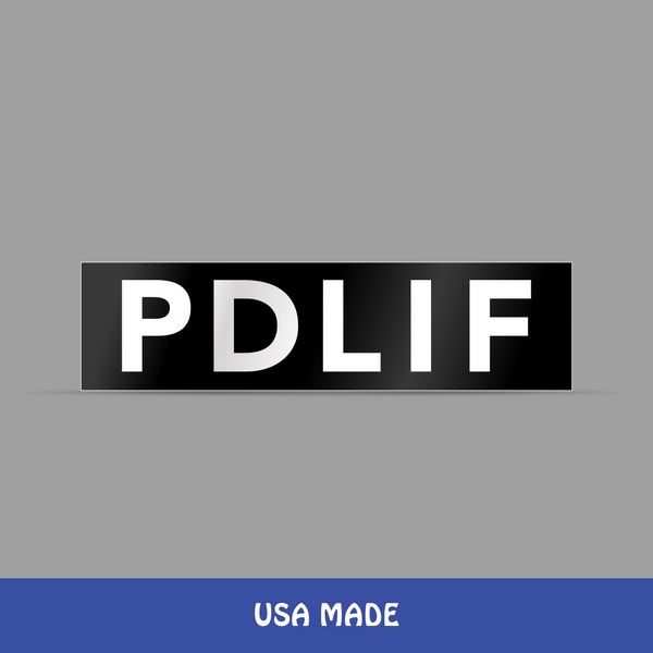PDLIF Bumper Sticker