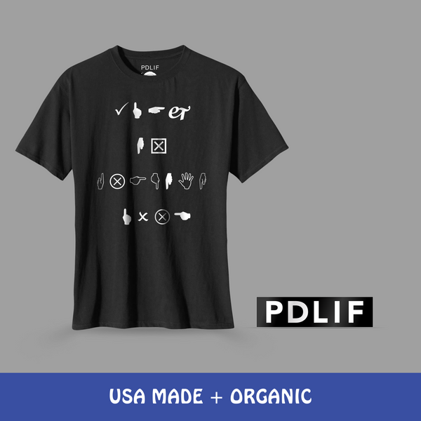PREORDER: Play It Fucking Loud Tee + PDLIF Bumper Sticker Bundle