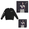 Black Crewneck + Album + Signed Litho