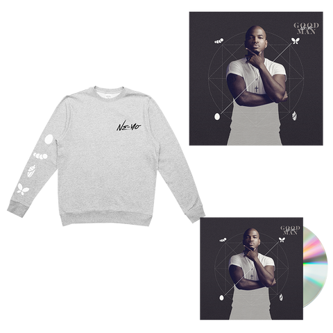Grey Crewneck + Album + Signed Litho