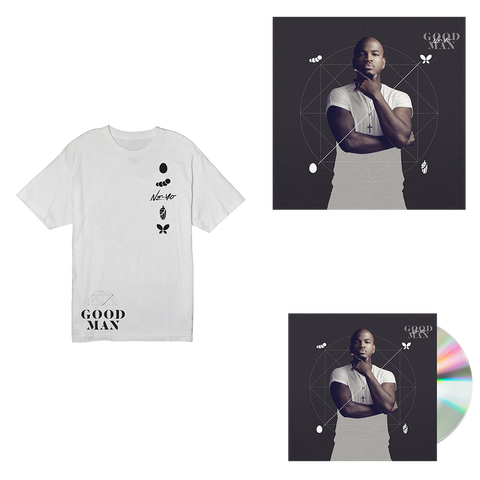 White T-Shirt + Album + Signed Litho