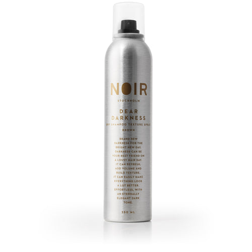 DEAR DARKNESS - DRY SHAMPOO AND TEXTURIZING SPRAY FOR BRUNETTES