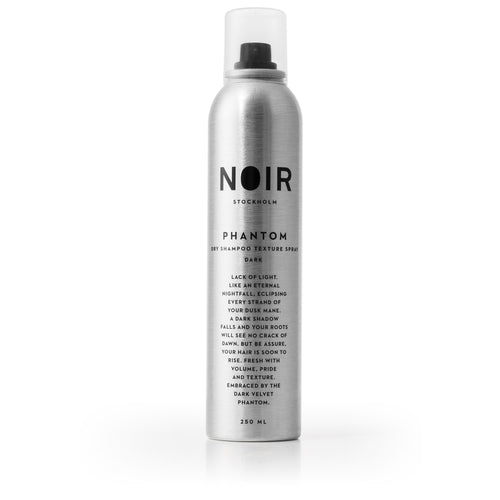 PHANTOM - DRY SHAMPOO AND TEXTURE SPRAY FOR DARK HAIR