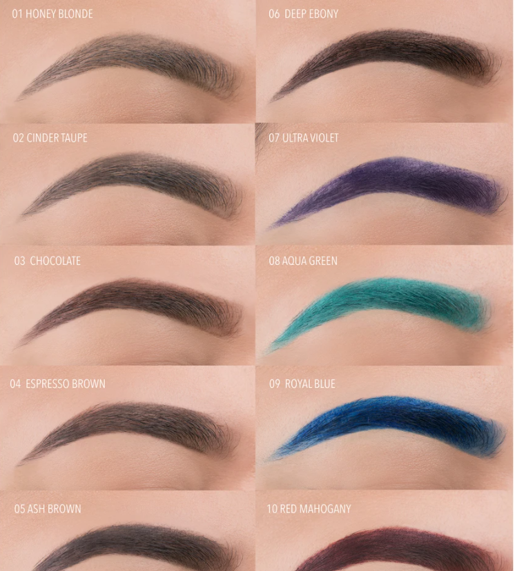 BROW DEFYING GEL - 07 ULTRA VIOLET