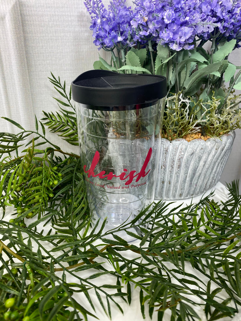 Cherish Plastic Travel Mug