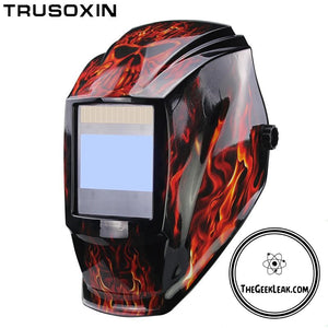 Professional Rechargeable Welding Helmet with a Large View (The Travis Butler Special) -  - TheGeekLeak.com