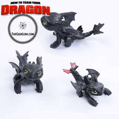 How to Train Your Dragon - Toothless Action figure - Toys - TheGeekLeak.com