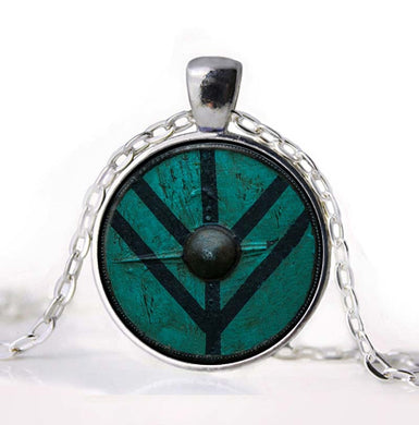 History's Vikings -  Lagertha Shield Necklace - Jewelry - TheGeekLeak.com
