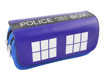 Load image into Gallery viewer, Doctor Who TARDIS Pencil Case / Cosmetic Bag - Accessories - TheGeekLeak.com