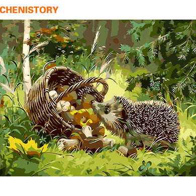DIY Hedgehog Paint-By-Numbers Set - Crafts - TheGeekLeak.com
