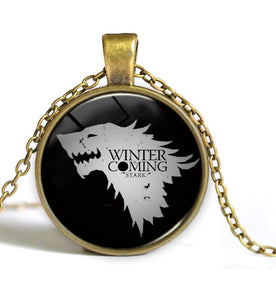 "Game of Thrones - ""Winter Is Coming""  Necklace - Jewelry - TheGeekLeak.com"
