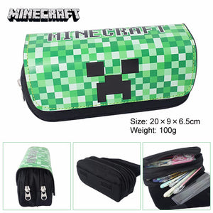 Minecraft Creeper Pencil Case / Cosmetic Bag - Accessories - TheGeekLeak.com