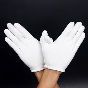 White Performance Golves for Marching Bands - Clothing - TheGeekLeak.com