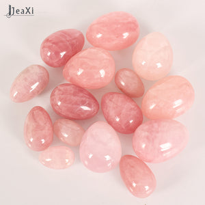 Undrilled Rose Quartz Yoni egg - Kegel Exercise Egg - Tightening Sphere - Health - TheGeekLeak.com