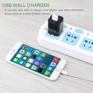 HD 1080P USB Wall Charger Wireless Home Security Camera (USA  Plug Version) - Phone - TheGeekLeak.com
