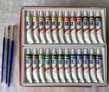 Load image into Gallery viewer, Professional Oil Paint Set - 24 Colors - Art - TheGeekLeak.com