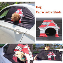 Load image into Gallery viewer, Pet Car Window Shade With Hole - Accessories - TheGeekLeak.com