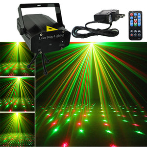 Super Bright Red & Green Laser Projector With Remote - Accessories - TheGeekLeak.com