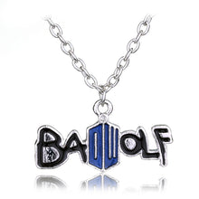 Load image into Gallery viewer, Bad Wolf Necklace - Jewelry - TheGeekLeak.com