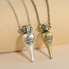 "Load image into Gallery viewer, Harry Potter Felix Felicis ""Liquid Luck"" Necklace - Jewelry - TheGeekLeak.com"