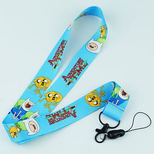 Adventure Time Lanyard - Accessories - TheGeekLeak.com