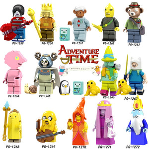 Adventure Time - Princess Bubblegum Lego Dimensions Style Action Figure -  - TheGeekLeak.com