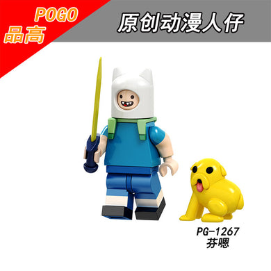 Adventure Time - Finn The Human Lego Dimensions Style Action Figure -  - TheGeekLeak.com