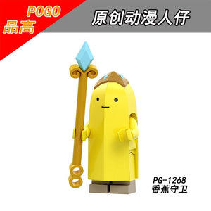 Adventure Time - Banana Guard Lego Dimensions Style Action Figure -  - TheGeekLeak.com