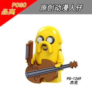 Adventure Time - Jake The Dog Lego Dimensions Style Action Figure -  - TheGeekLeak.com