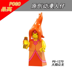 Adventure Time - Flame Princess Lego Dimensions Style Action Figure -  - TheGeekLeak.com