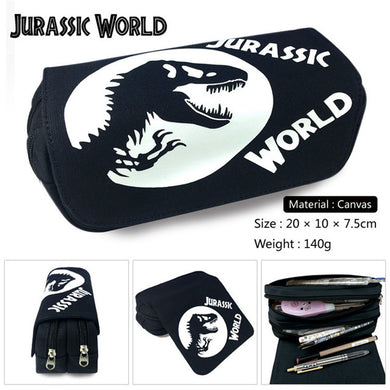 Jurassic World Pencil Case / Cosmetic Bag - Accessories - TheGeekLeak.com
